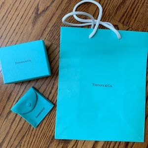 Tiffany & Co. Packaging - Bag, Box, and Pouch